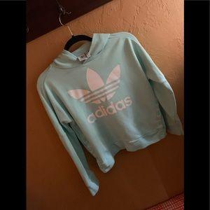 Adidas girls sweatshirt